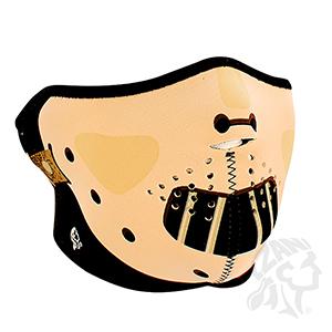 ZANheadgear Neoprene Half-Face Hannibal Face Mask