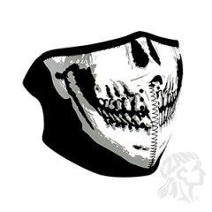 ZANheadgear Neoprene Half-Face Skull Face Mask
