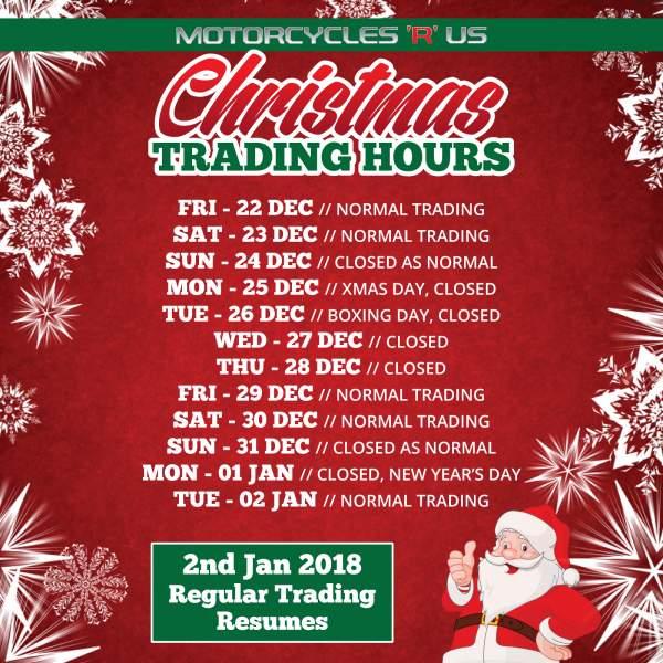 2017 Xmas Trading