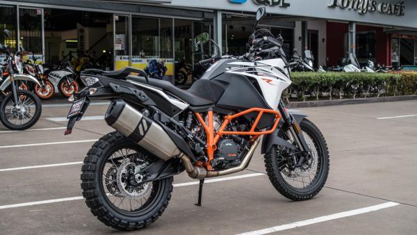 KTM 1090 Adventure R motorcycle side view