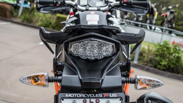KTM 1090 Adventure R motorcycle rear tail light
