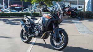 KTM 1290 Super Adventure S motorcycle front view