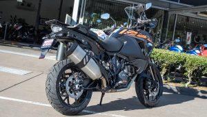 KTM 1290 Super Adventure S motorcycle side view