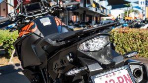 KTM 1290 Super Adventure S motorcycle rear tail lights