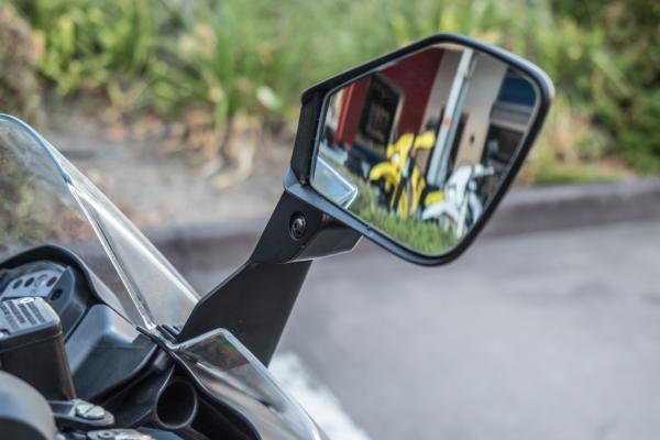2017 KTM RC 390 motorcycle rear vision mirror