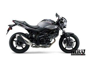 Suzuki SV650X motorcycle right side view