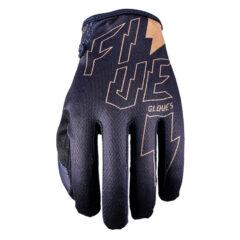Black Five MXF4 Thunderbolt Glove Back