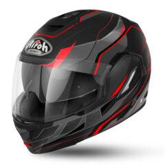 Matt Black/Red Airoh Rev 19 Revolution Helmet