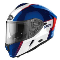 Flow Blue/Red Gloss Airoh Spark Helmet