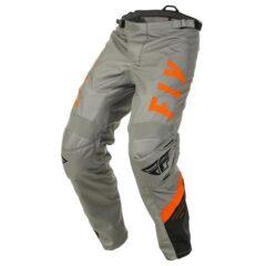 Grey/Black/Orange Fly Racing F-16 Pant