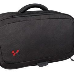 Black Can-Am Spyder Soft Rear Top Cargo Travel Bag