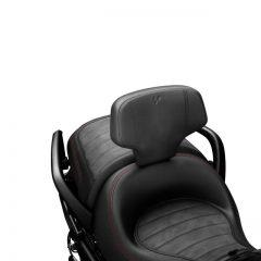 Can-Am Spyder Black Detachable Driver Backrest
