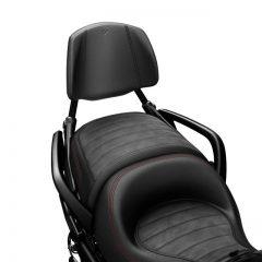 Can-Am Spyder Black Detachable Passenger Backrest