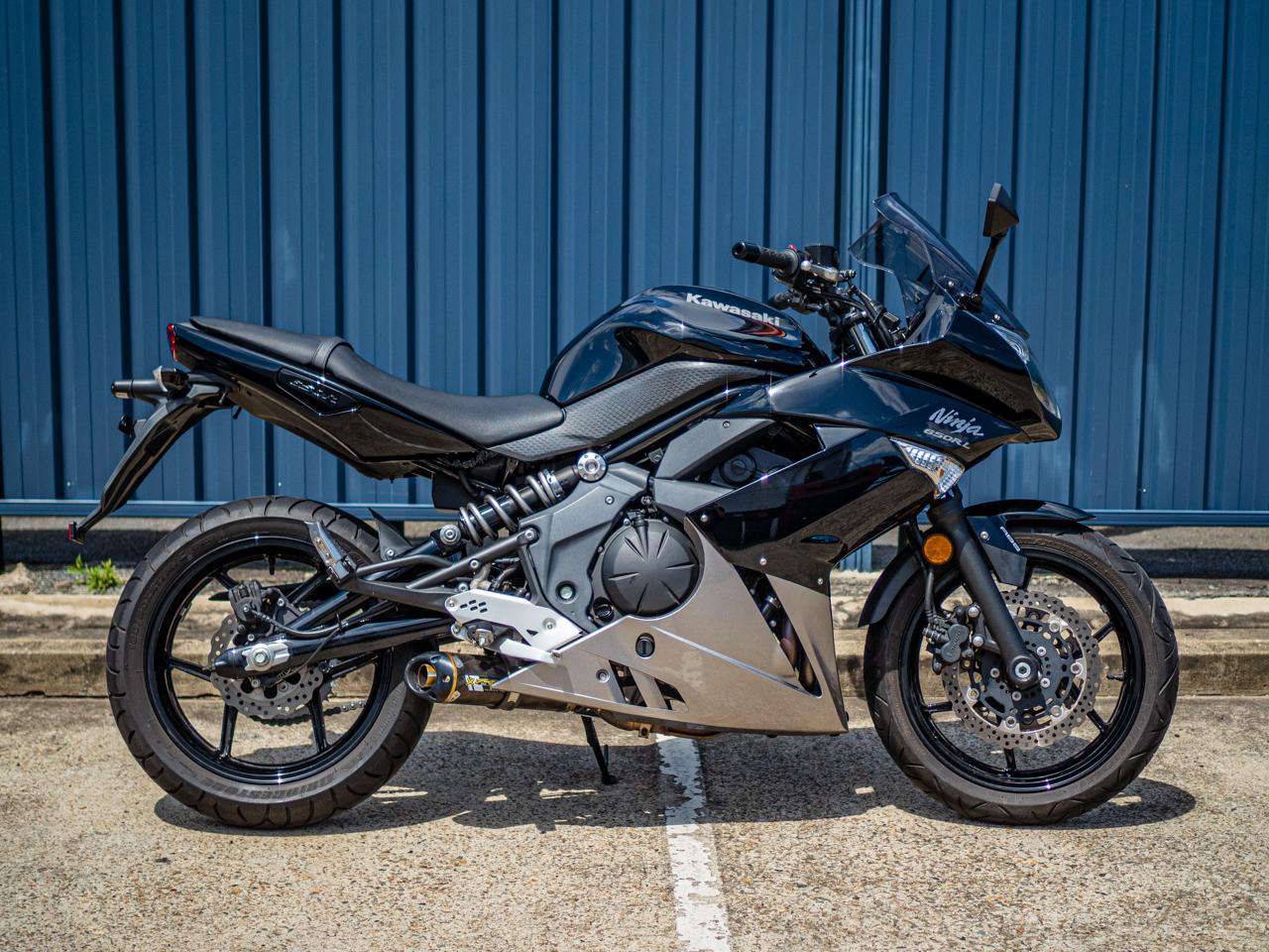2011 KAWASAKI NINJA 650RL LAMS IN BLACK | Motorcycles