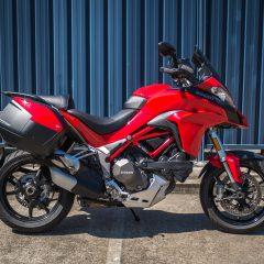Ducati Red Multistrada 1200 T-Pack 2015