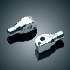 Kuryakyn Rear Peg Adapters for Metric Cruisers