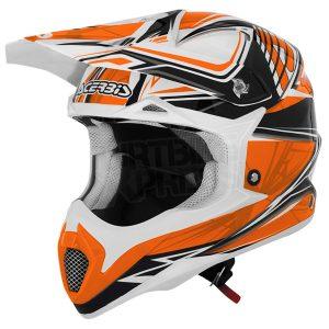 Orange Acerbis Impact Bombshell Helmet
