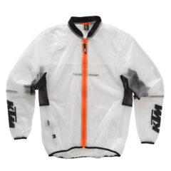 KTM Transparent Rain Jacket Front