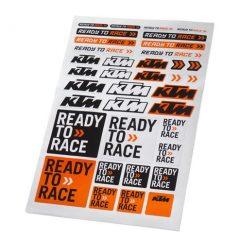 KTM Corporate Sticker Sheet