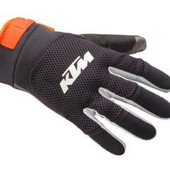 Black/Grey KTM Pounce Glove Front