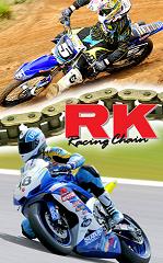 RK Sealed 'XW' Ring Chain 520GXW-120L