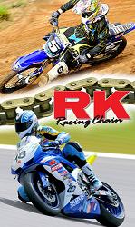 RK Heavy Duty Chain 420MXZ-136L GOLD