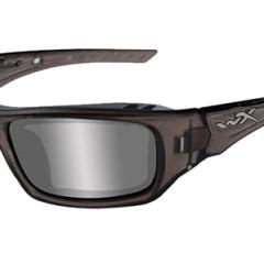 Wiley X Arrow (Silver Flash Lens / Liquid Grey Frame) Glasses