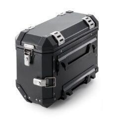 Black KTM Aluminium 37L Case Left