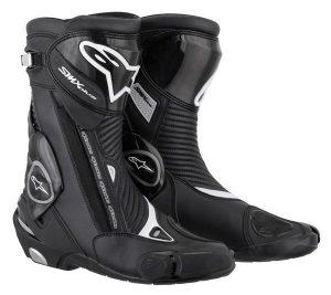 Black Alpinestars SMX Plus Boots