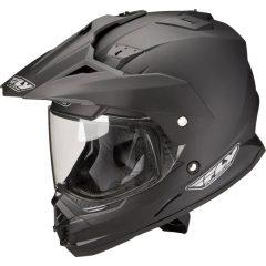 Fly Trekker Matte Helmet Black