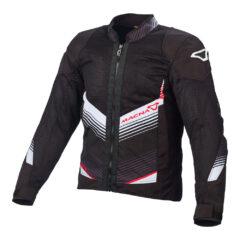 Black/White/Red Macna Rewind Mens Jacket