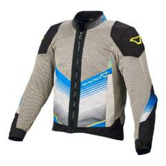 Grey/Black/Blue Macna Rewind Mens Jacket