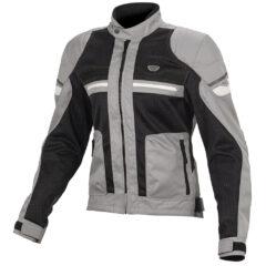 Black/Grey Macna Rush Ladies Jacket Front