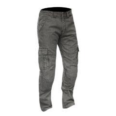 Grey Merlin Portland Mens Cargo Pant
