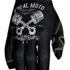 Black/White O'Neal Jump Piston Glove