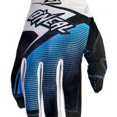 Black/White O'Neal Jump Race Glove