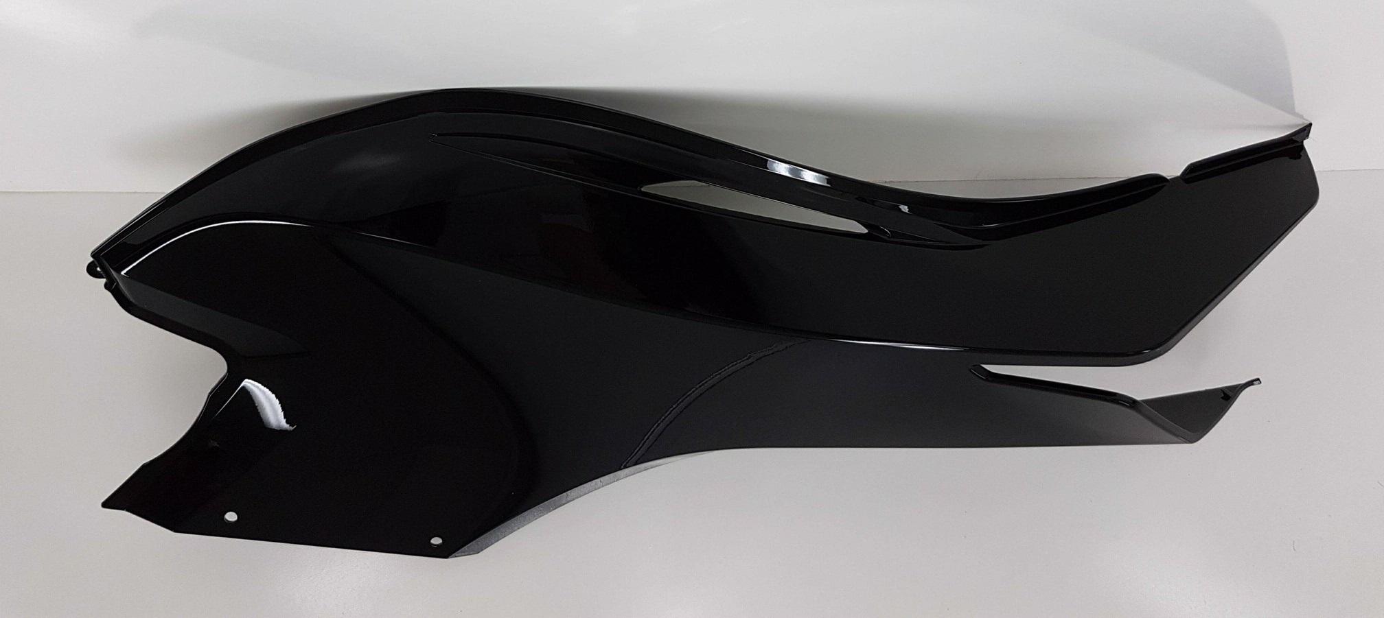 Can-Am Spyder Upper Side Panel RH Steel Black