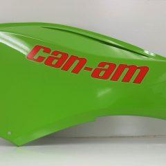 Can-Am Spyder Upper Side Panel RH Green Pearl
