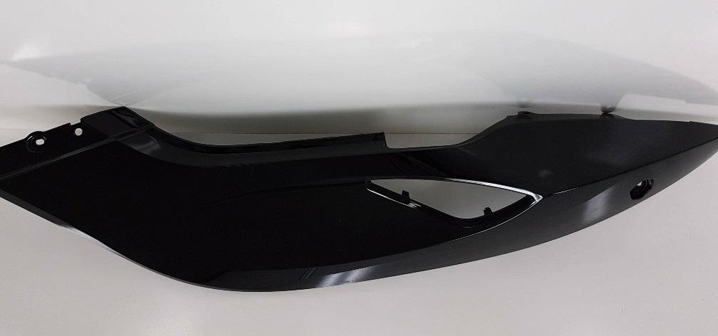 Can-Am Spyder Rear Panel LH Steel Black Metalic