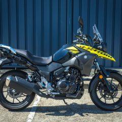 Black/Yellow Suzuki V-Strom 250 2019
