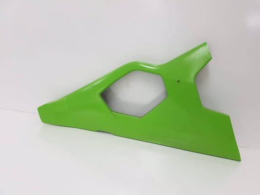 Can-Am Spyder Upper Air Deflector LH Green