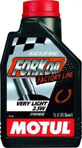 Motul Fork Oil Factory Line Very Light 2.5W (1L)