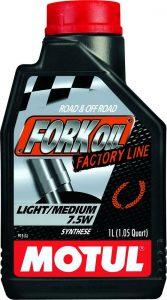 Motul Fork Oil Factory Line Light/Medium 7.5W (1L)