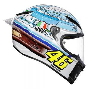 Rossi Winter Test 2017 (Limited Edition) AGV Pista GP R Helmet
