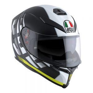 Darkstorm Matt Black/Yellow AGV K-5 S Helmet