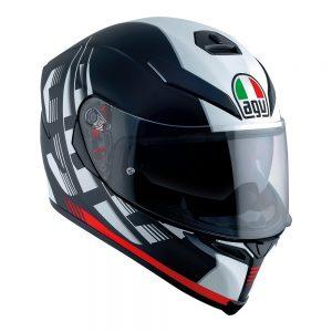 Darkstorm Black/Red AGV K-5 S Helmet