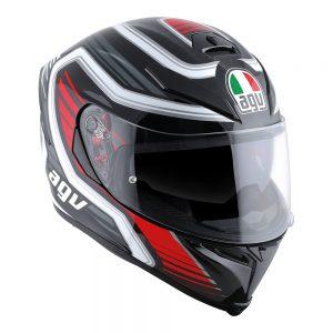 Firerace Black/Red AGV K-5 S Helmet