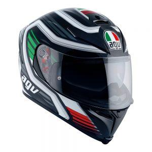 Firerace Black/Italy AGV K-5 S Helmet
