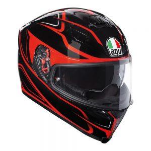 Magnitude Black/Red AGV K-5 S Helmet