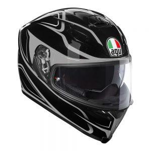 Magnitude Black/Silver AGV K-5 S Helmet